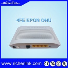 FTTH Optical Network 4FE Port ONU