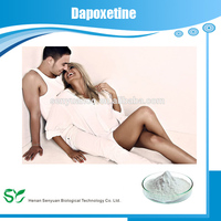 99% Purity Enhance sexual function sex time delay Medicine Grade Sex Powder Dapoxetine Hydrochloride 129938-20-1