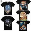 Animal printed 3d t shirt,custom t shirt printing,men's t shirt