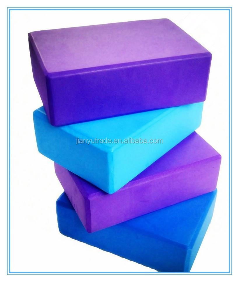 Eva foam building blocks yoga block and bricks eva foam for Foam building blocks for houses