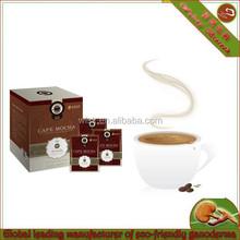 healthcare food JUNCAO ganoderma lucidum mushroom extract body beauty slimming coffee