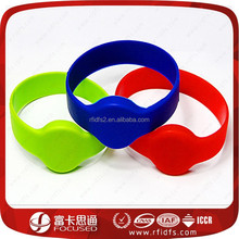 Cheap Silicone Mifare S50 smart rfid wrist watch for party