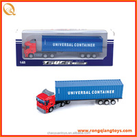 top sell 1:65 free wheel metal truck container toy die cast truck PB19291804-1A