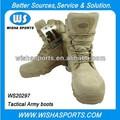 Airsoft botas de combate tácticos militares en Tan