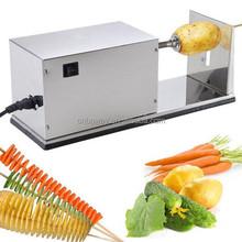 potato slicer machine, best potato slicer, spiral potato chips machine