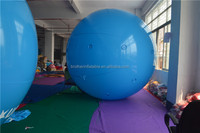 6p ROHS certificated 0.18mm giant inflatable pvc advertising helium balloon