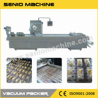 SMV-320/420/520 High Speed Vacuum Machine For Fish Fillets