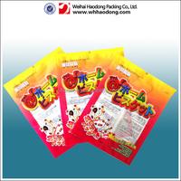 Food Grade 3 Side Seal Packaging Bag For Snack