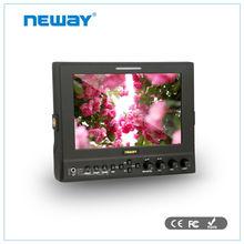 7 pulgadas <span class=keywords><strong>bnc</strong></span> entrada HDMI sdi videocámara del monitor