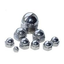 Hexagon weld acorn nuts