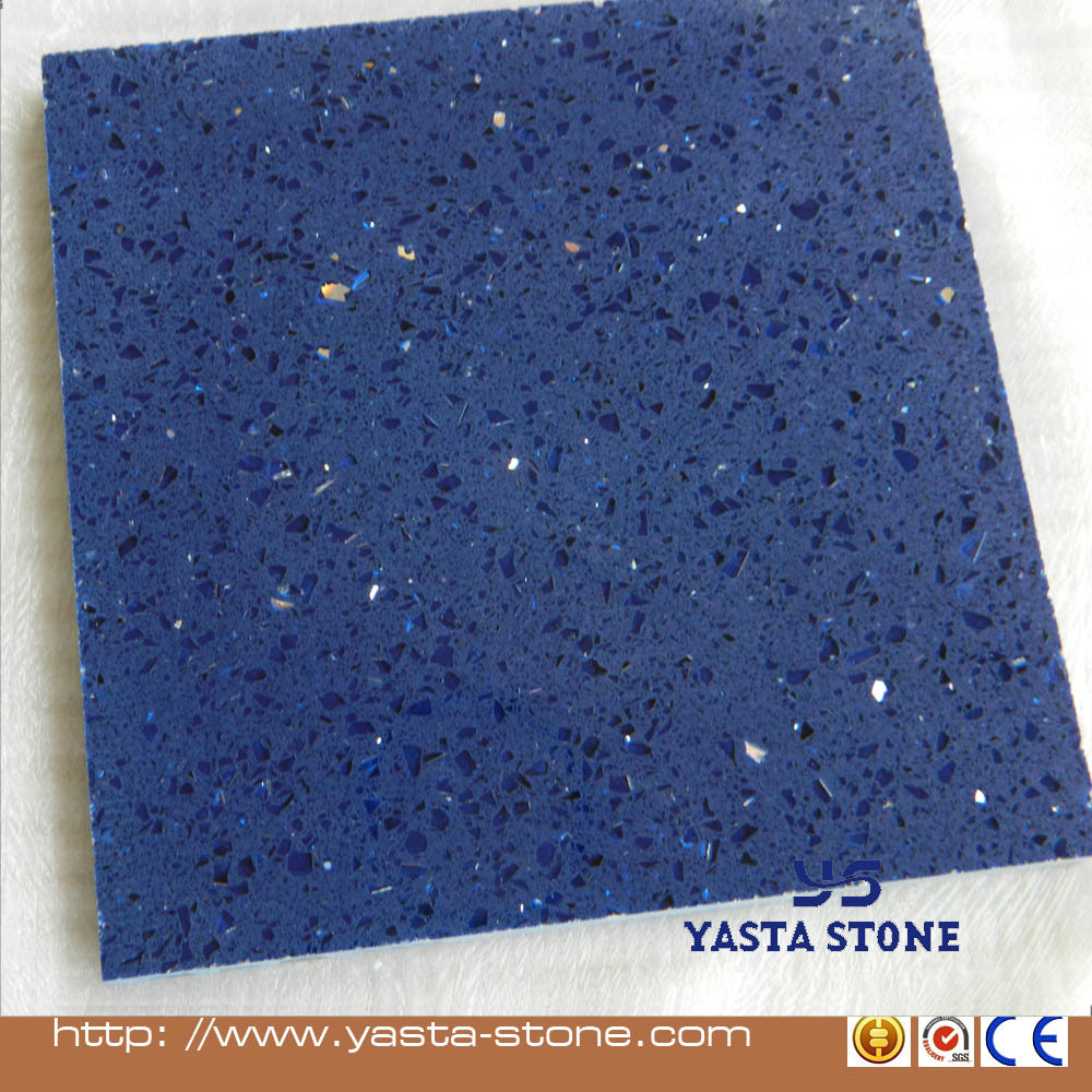 Cheapest Quartz Flooring Tile Starlight Blue Quartz Tiles Buy