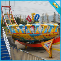 flying ufo new products!Top fun amusement ride playground flying ufo new products