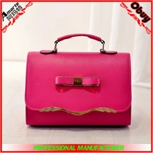 fashional trend retro bowknot girls and lady handbags or shoulder handbags