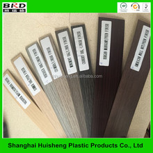 Nigeria market good sales decorative wood grain pvc edge banding