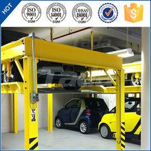 PJS 4 post 2 level mini stack car parking lift
