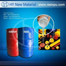 polyurethane casting resin by silicone rubber