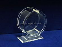 clear acrylic cylinder for fish aquarium