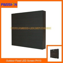 Wedding Stage Decoration P10 LED Display Board, P10 Led Display Panel , P10 Led Commercial Advertising Display Screen
