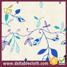 spring leaf new design PVC /PEVA printed transfer table cover of DXLTABLECLOTH