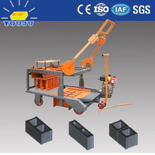 youju QMR4-45 concrete block making machine could product the hollow block
