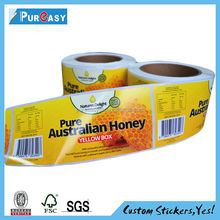 Made in China high quality frozen food label