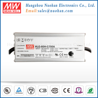Meanwell 60W 700mA Single Output electronic led driver/constant current pwm 700ma dimmable led driver