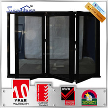 superhouse soundproof aluminum sliding folding door with as2047 standard