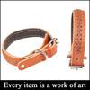 wholesale products for pet shop led dog collar leather SZ-DG001