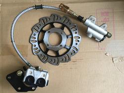 Pit bike brake system 2 rear ssr coolster pitster pro ycf piranha sdg
