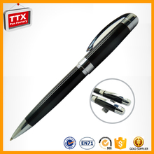 Top luxury office writing metal roller pen branded promotional roller ball pens buck buy from china