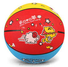 Mini cartoon design basketball rubber