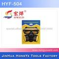 Carbón activado del filtro de gas máscara de la cara llena de máscara de gas