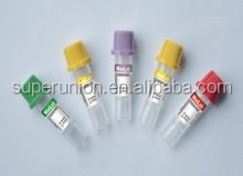 sterile vacuum blood collection tube for single use