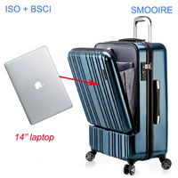 Carry on business trip Polycarbonate PC 20 inch laptop bag