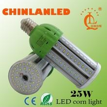 2015 new warehouse,street,garden led bulb, dimmable e27 e40 360 degree lighting 25w led corn lamp