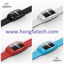 hongfa braccialetto bluetooth prezzo orologio bluetooth per il cellulare regalo di promozione accessori per telefoni cellulari