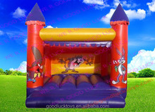 jumping castle/ inflatable bouncy castle moonwalk with pop up commercial inflatable play for kids /inflatable castle /in
