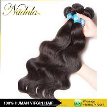 Brazilian Hair Bundles Wrap Around Human Hair Ponytail Wholesale
