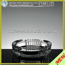 Hot Sale Promotional Crystal Glass Ashtray