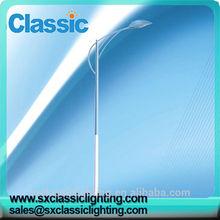 venta caliente de alta calidad galvanizado decorativos mejor precio ip65 de energía solar de la calle de energía poste de luz