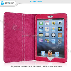 Tablet case cover stand Folio leather case for ipad mini 2 3 4 , for ipad mini case folio,for ipad mini 4 stand cover case