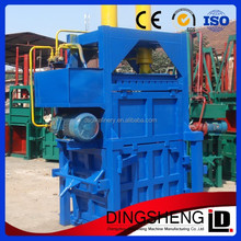 best quality automatic hydraulic baler for waste plastic