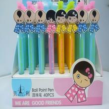 mini ball pen,4 color ball pen with mechanical pencil,neck ball pen