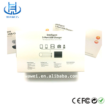 2015 Shenzhen factory oem newest 50W 5 Ports USB Charger/Multi Port USB Charger For All mobile Phones/tablets etc