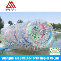 Water zorb roller ball in TPU and PVC material