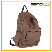 2014 New leisure men's canvas backpack, classical rucksack