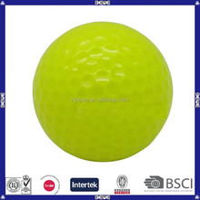 promotional velocity colorful floating tournament/match golf ball