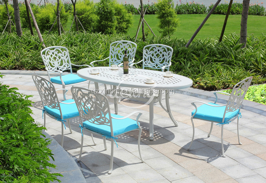 Used cast aluminum patio furniture exteriors marvelous for Metal patio furniture sale