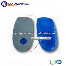 New Design Lady Heightening Shoe Pads, Footcare High Heel Silicone Insoles