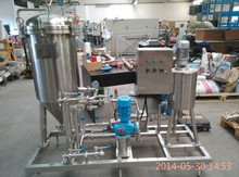 100L home brewing equipment test beer brewing system